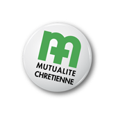 Logo de la Mutualité Chrétienne, partenaire de l'Accueil des Tout-Petits