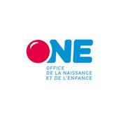 Logo de l'ONE, partenaire de l'Accueil des Tout-Petits